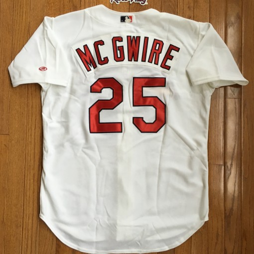 Mark McGwire Authentic St. Louis Cardinals MLB jersey