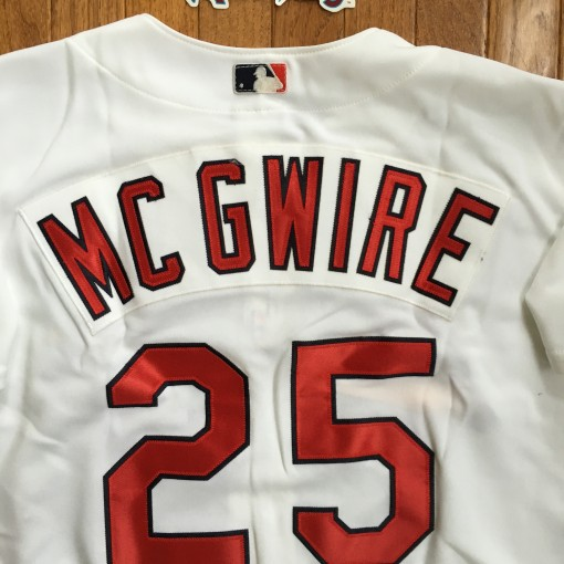 Vintage Rawlings Mark McGwire Cardinals jersey
