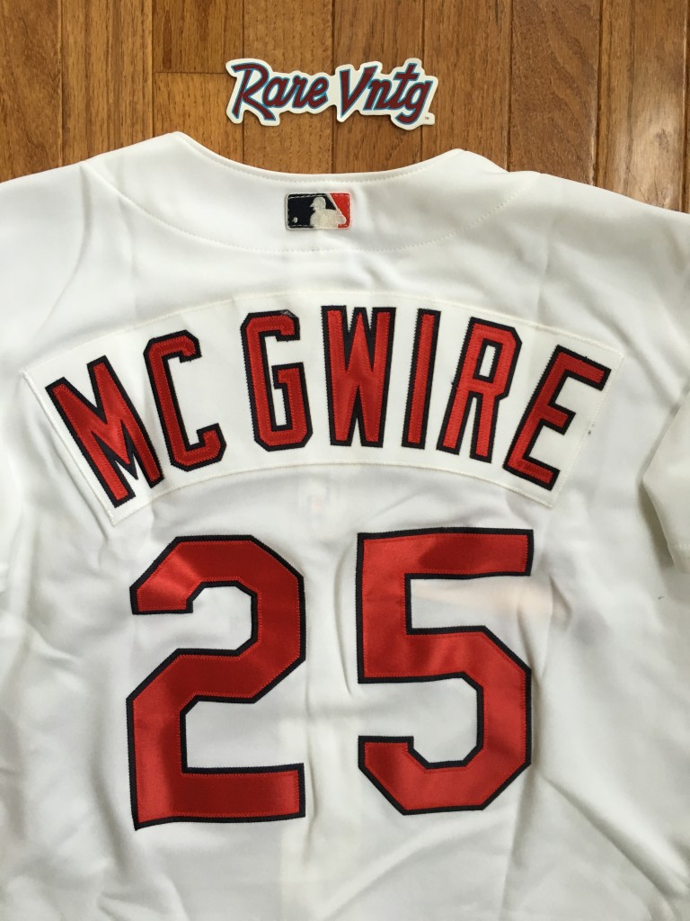 huge discount ca96a a65dd 2001 Mark McGwire St. Louis Cardinals Authentic Rawlings MLB Jersey Size 44