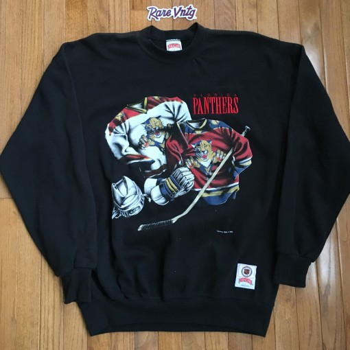 Vintage 90's Nutmeg Florida Panthers NHL crewneck sweatshirt
