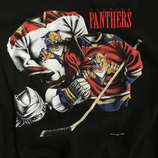 Vintage Florida Panthers Nutmeg Crewneck