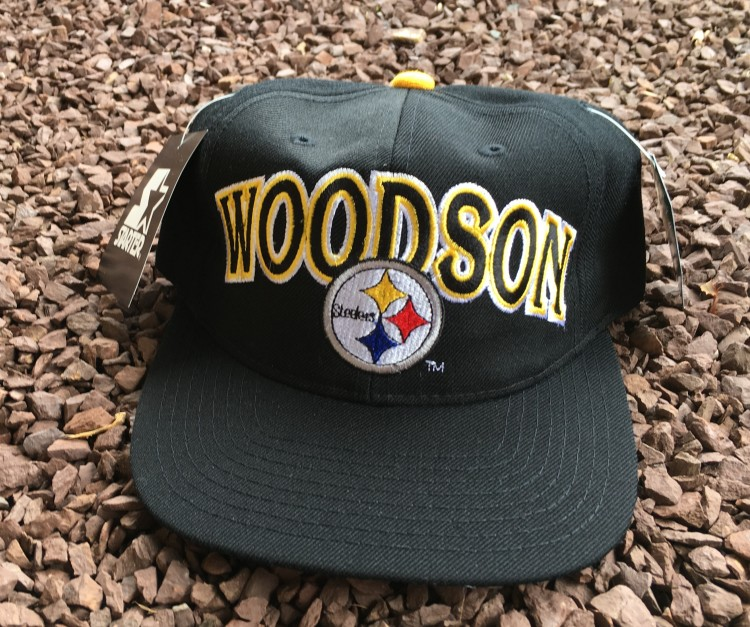 various colors bdc80 3c8c3 90's Rod Woodson Pittsburgh Steelers Starter NFL Snapback Hat