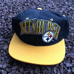 Vintage 90's Starter Pittsburgh Steelers Pro Line NFL snapback hat