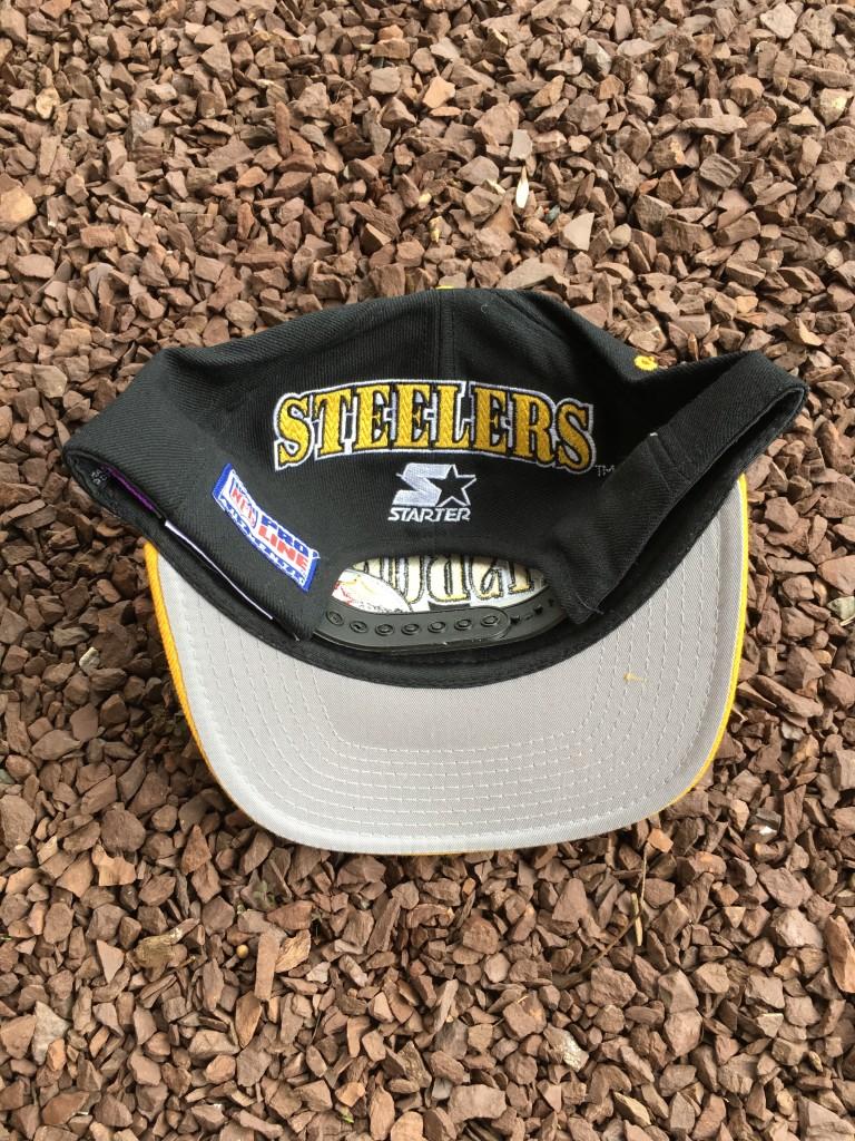 e6501f45495 90 s Pittsburgh Steelers Starter Pro Line NFL Snapback Hat