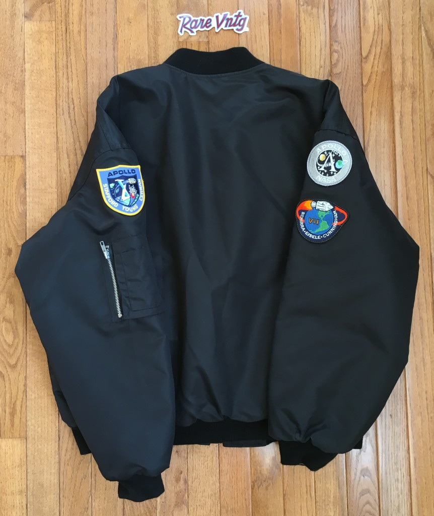 1997 From Earth to The Moon HBO Swingster MA 1 Flight Jacket Size ... 2deb0910a
