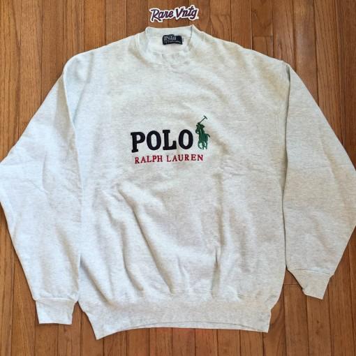 Vintage 90's Polo Ralph Lauren Crewneck Sweatshirt