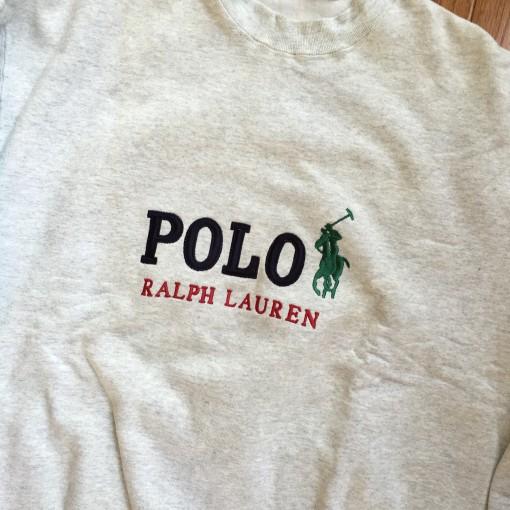 Vintage Polo Sweatshirt
