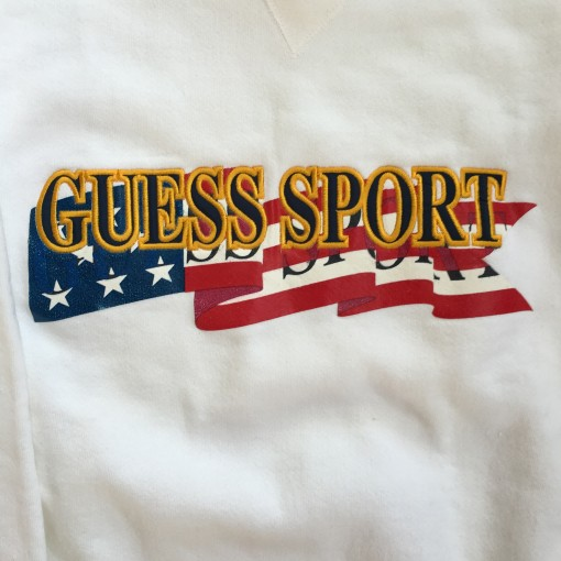 Guess Sport USA flag 90's