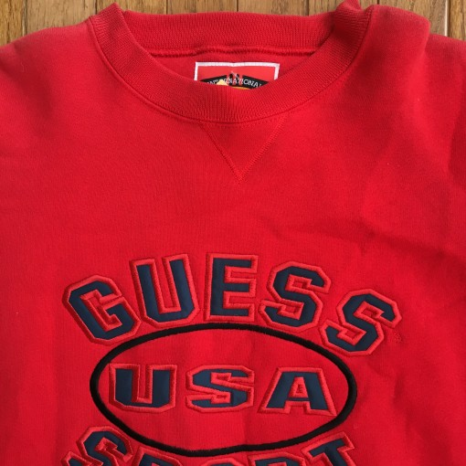 Guess Sport USA Red