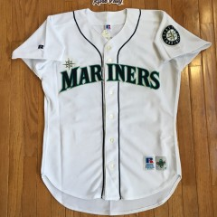 Vintage 90's Seattle Mariners Authentic Russell Diamond Collection jersey
