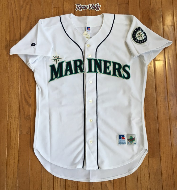 official photos 48452 7d48f 1995 Ken Griffey Jr. Seattle Mariners Authentic Russell MLB Jersey