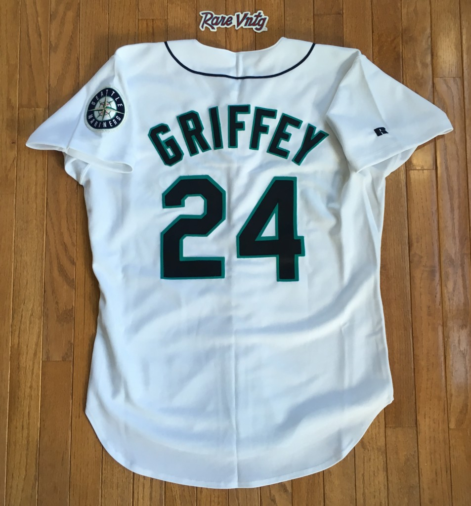 1995 Ken Griffey Jr. Seattle Mariners Authentic Russell ...