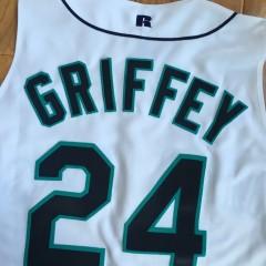 Vintage Ken Griffey Jr Seattle Mariners Authentic Vest jersey