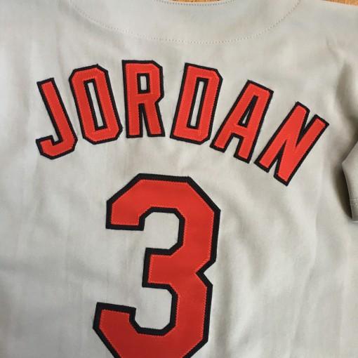 Brian Jordan MLB jersey