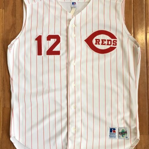 1994 Deion Sanders Authentic Cincinnati reds jersey