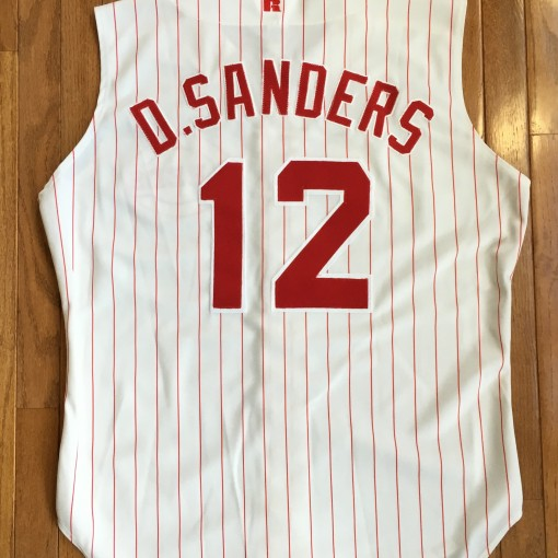 Deion Sanders #12 authentic reds 1994 jersey