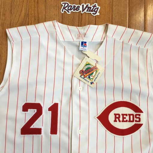 Deion Sanders 1995 Cincinnati Reds Authentic jersey size 48