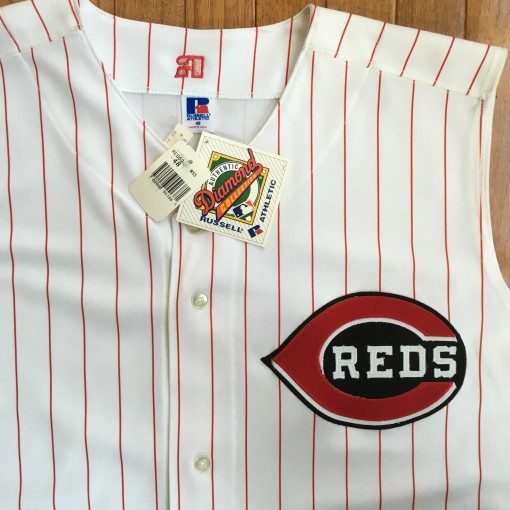 Reds authentic jersey