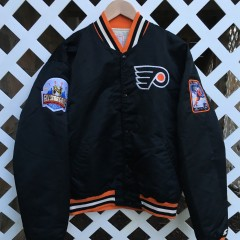 Vintage Rare Vntg custom Flyers satin jacket