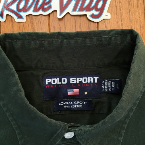 Polo Sport 90's Lowell Sport Oxford shirt