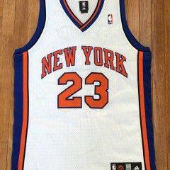 New York Knicks Lebron James authentic Adidas jersey