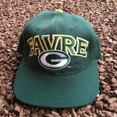 Vintage Brett Favre Green Bay Packers Starter Snapback hat