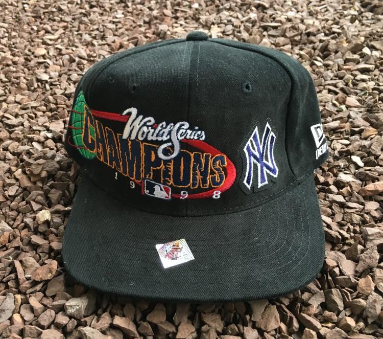 6de162bf348c8 1998 New York Yankees World Series Champions New Era MLB Snapback ...
