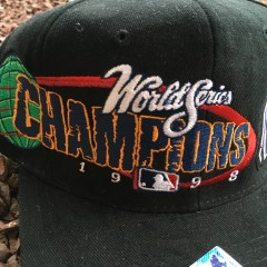 New York Yankees World Series Champions 1998 New Era hat