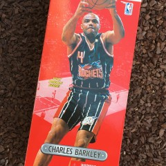 Vintage 1997 Charles Barkley Houston Rockets Starting Lineup Toy Figure