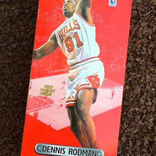 Vintage 1997 Dennis Rodman 12 inch starting lineup toy