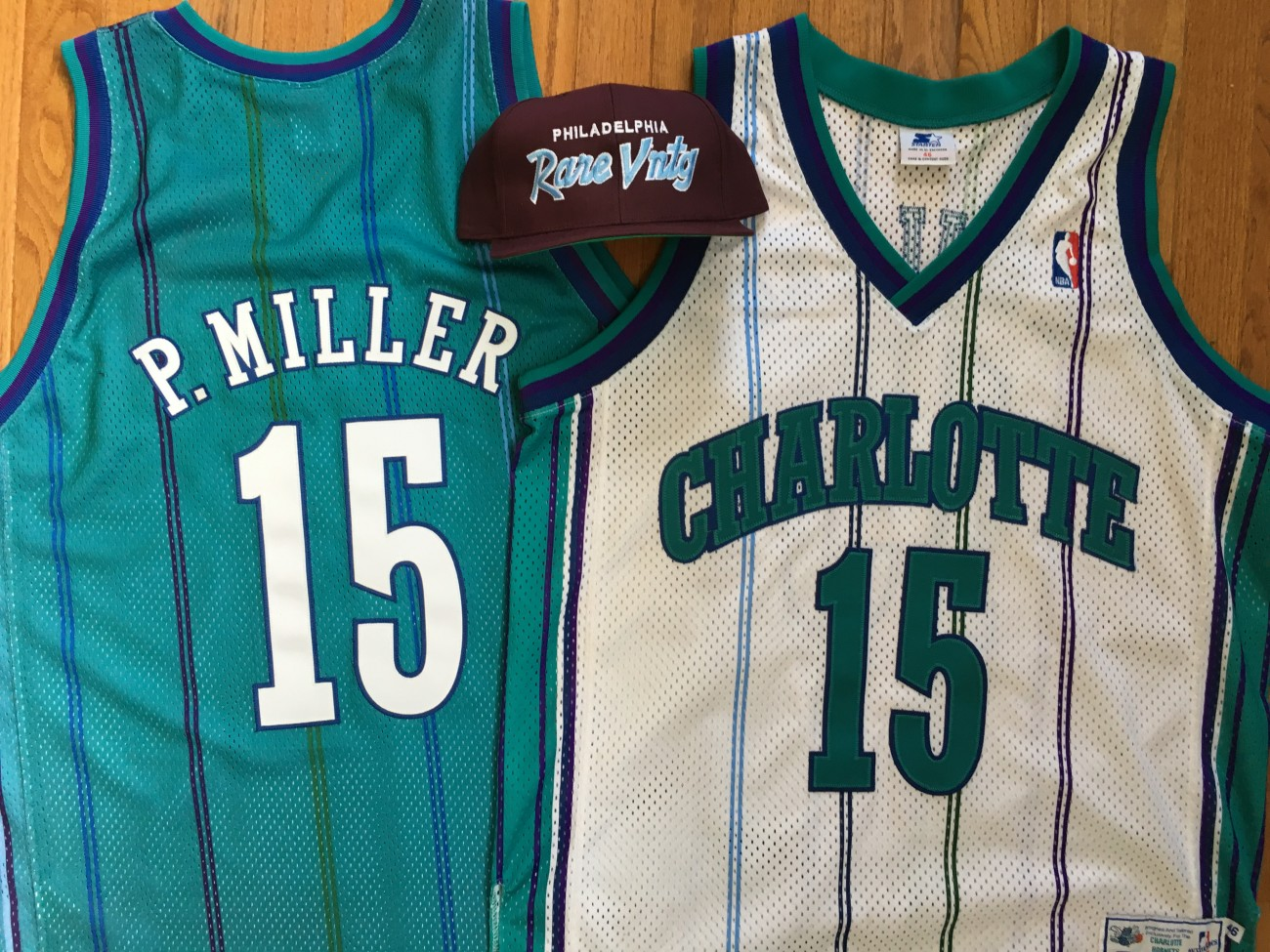 Rare Vntg Charlotte Hornets Master P Authentic Starter NBA Jersey