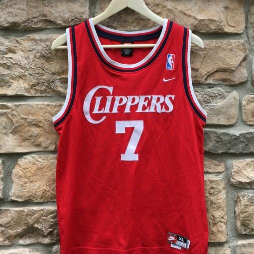 Vintage Lamar Odom LA Clippers Nike Rewind Swingman jersey youth XL