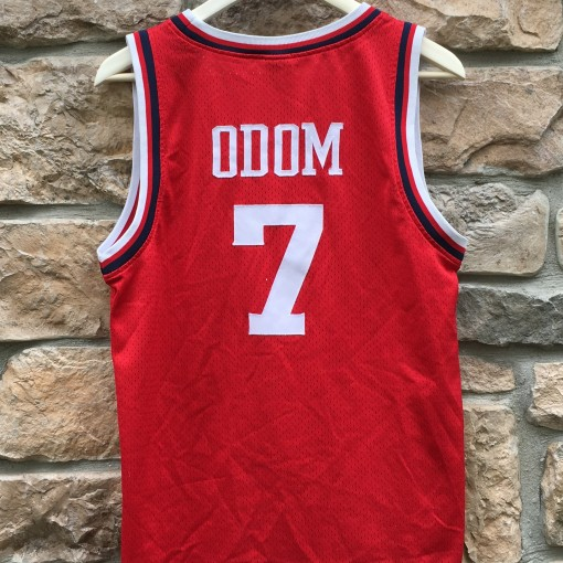 Vintage Lamar Odom Los Angeles Clippers jersey