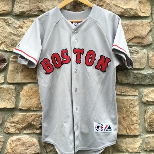 1997 Nomar Garciaparra Boston Red Sox Majestic MLB Jersey Size Small ... c93685f53
