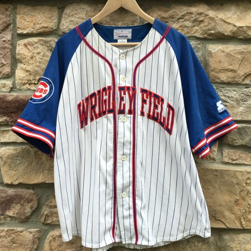 Vintage Wrigley Field Chicago Cubs Starter MLB jersey