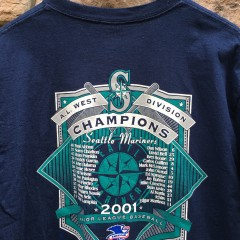 Mariners Division Champions T shirt vintage
