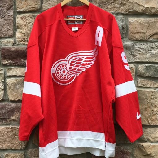 90's Detroit Redwings Nike NHL jersey