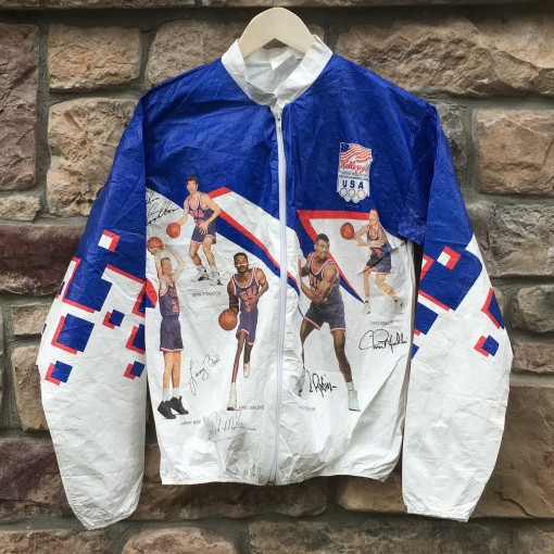 Vintage 1992 Olympic Dream Team windbreaker jacket size small