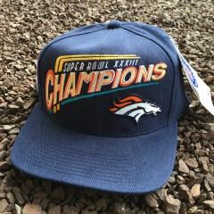 Vintage Denver Broncos Super Bowl XXXIII Champions Hat