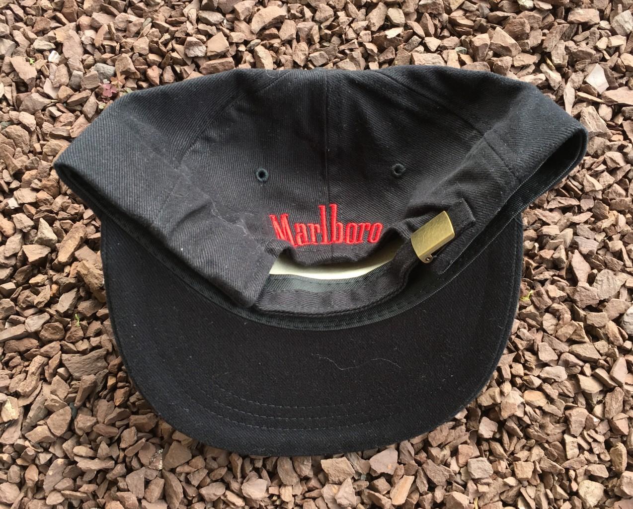 3f72b32ac0f47 Vintage 90 s Marlboro Cigarette Dad hat. 90 s Marlboro Dad hat