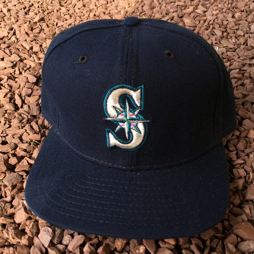 Vintage 90's Seattle mariners New Era snapback hat