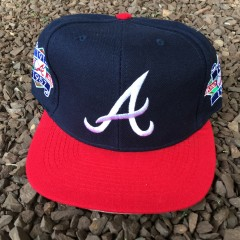 90's Atlanta Braves World Series Champions ANCO Snapback hat