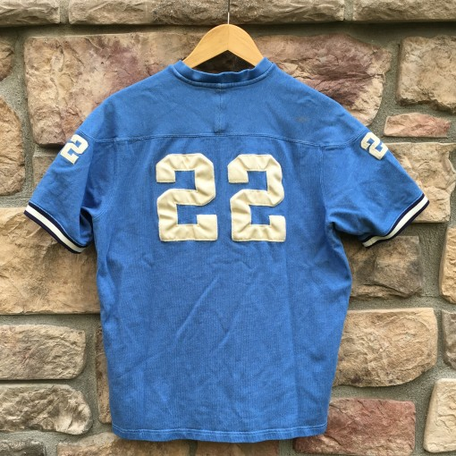 Vintage 90's Polo Sport #22 Football shirt top blue