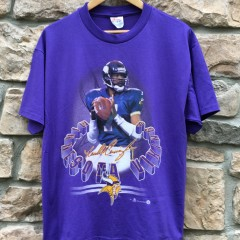 Vintage 1998 Randall Cunningham Minnesota Vikings T shirt