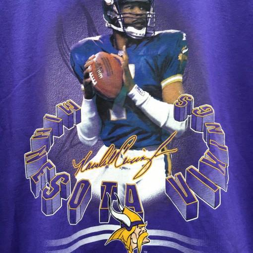 Randall Cunningham Vikings Vintage T shirt