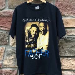 Vintage 1995 Gereld Eddie Levert Father & Son hip hop rap t shirt
