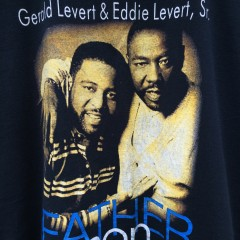 Gereld Levert Eddie Levert Sr. Father and son t shirt xl