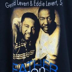Gereld Levert Eddie Levert Sr. Father and son t shirt xl