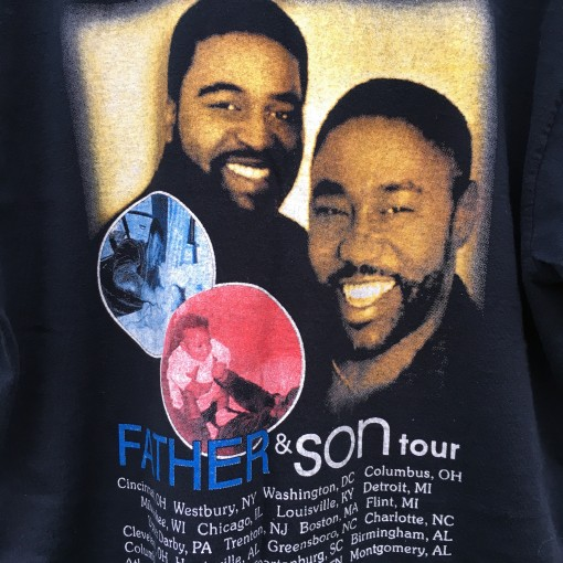 Vintage Father and Son Tour T shirt levert