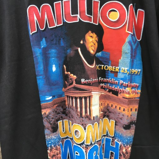 90's Million Women March Philly t shirt
